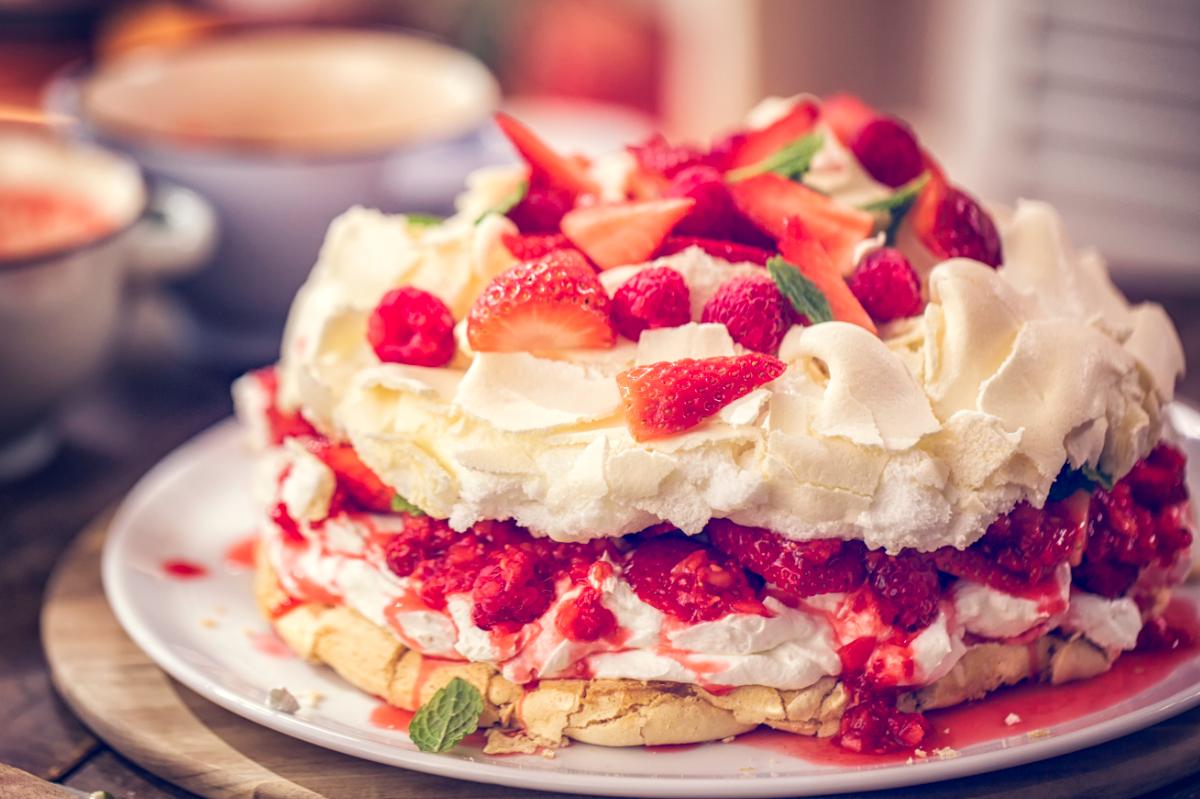 Pavlova ricetta originale del dolce ispirato ad una ballerina for Ricette di cucina estive
