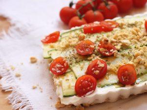 Cheesecake salata: la ricetta fatta con le zucchine