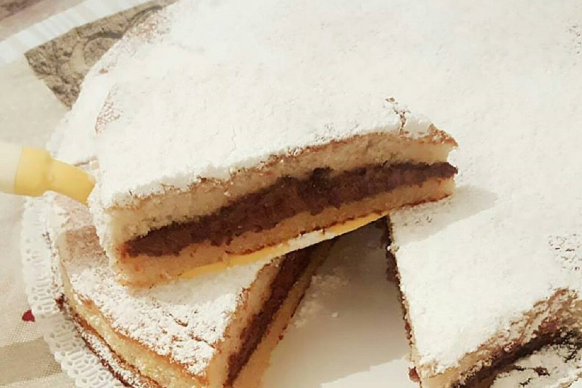 Torta yogurt e nutella la ricetta del dolce soffice e goloso for Cucina semplice ricette