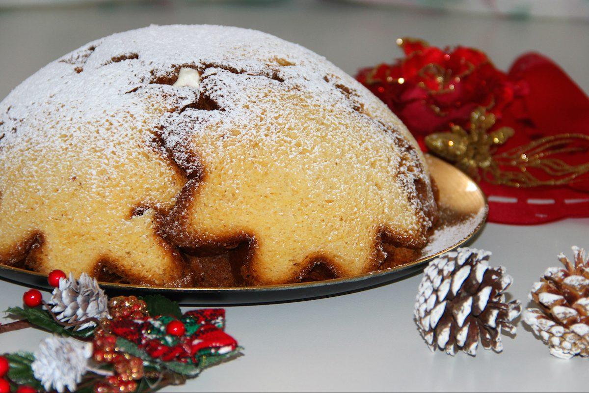 6f8d54c4d1df Zuccotto di pandoro  la ricetta del dolce natalizio goloso e originale