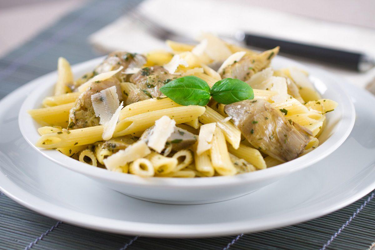 Pasta ai carciofi la ricetta del primo piatto semplice for In cucina ricette