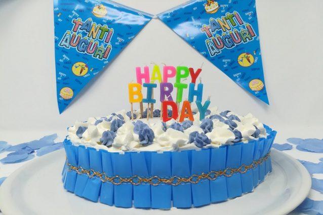 Torte di compleanno le ricette facili con decorazioni for Decorazioni per torta 60 anni