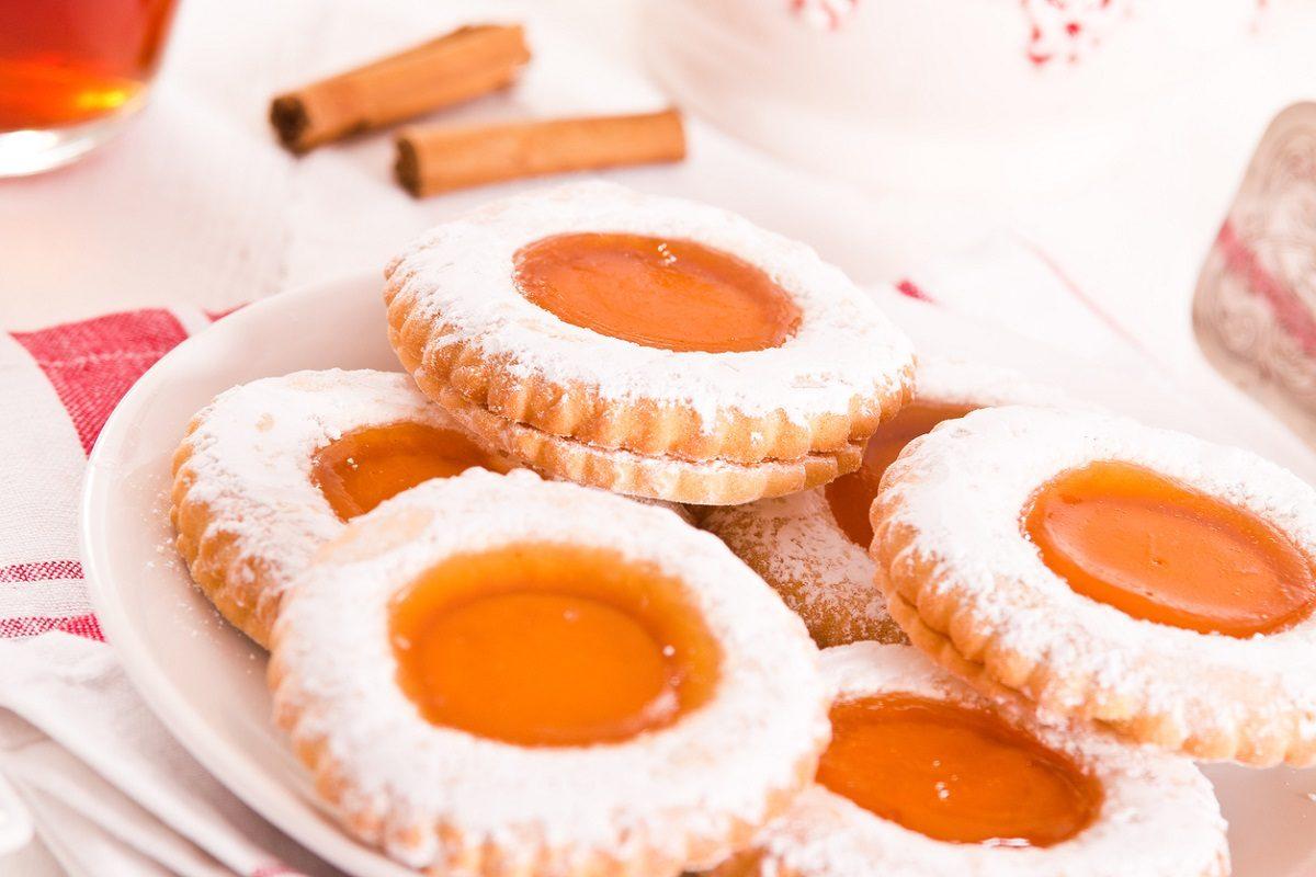 Biscotti Occhio Di Bue La Ricetta Dei Dolcetti Con Morbido Ripieno