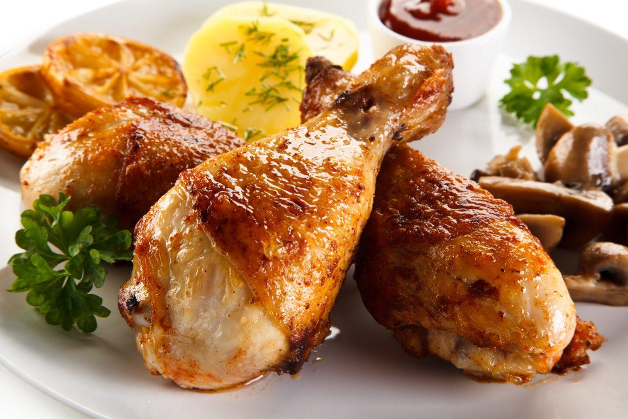 Cosce Di Pollo Al Forno La Ricetta Del Secondo Piatto Semplice E