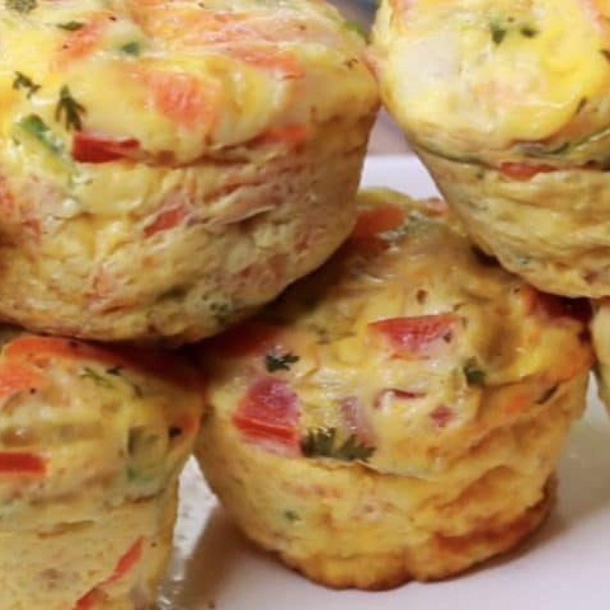 Antipasti Di Natale Monoporzione.Omelette Muffin La Ricetta Delle Frittatine Monoporzione Semplici E Sfiziose