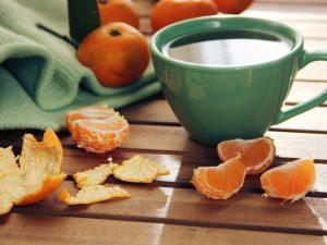 tangerine-tea