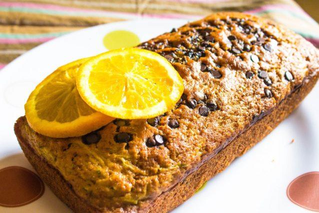 Chocolate Chip Orange Zucchini Bread A Quick And Easy Recipe