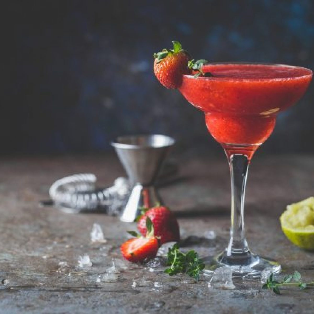 Strawberry Daiquiri The Best And Easy Recipe