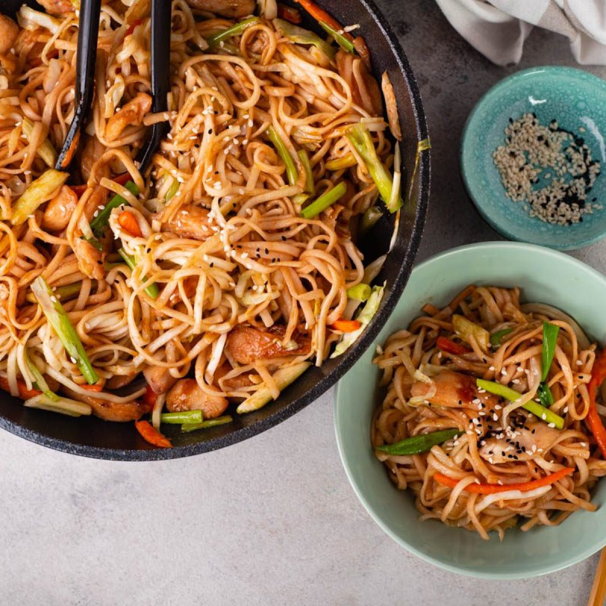 The Chow Mein: Flavorful & Fast Weeknight Noodles