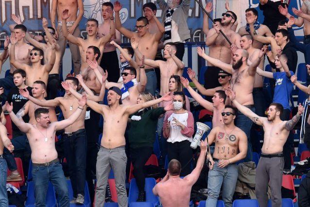 Bielorussia, si gioca ancora: tutti allo stadio senza masche