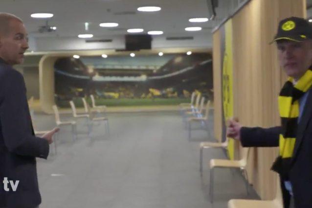 Borussia Dortmund, lo stadio diventa un centro d'accoglienza
