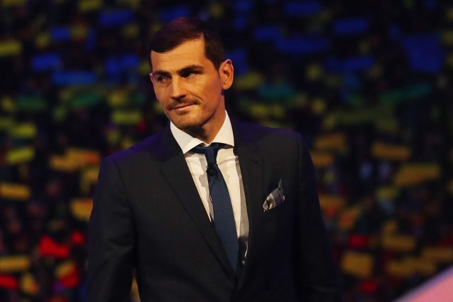 """Iker Casillas ricorda l'infarto: """"Se non fossi stato sul cam"""