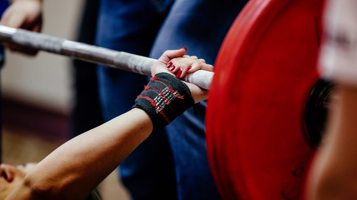 Polsini di Supporto per Crossfit SelectCyclingWear Bodybuilding e Palestra Sollevamento Pesi Powerlifting