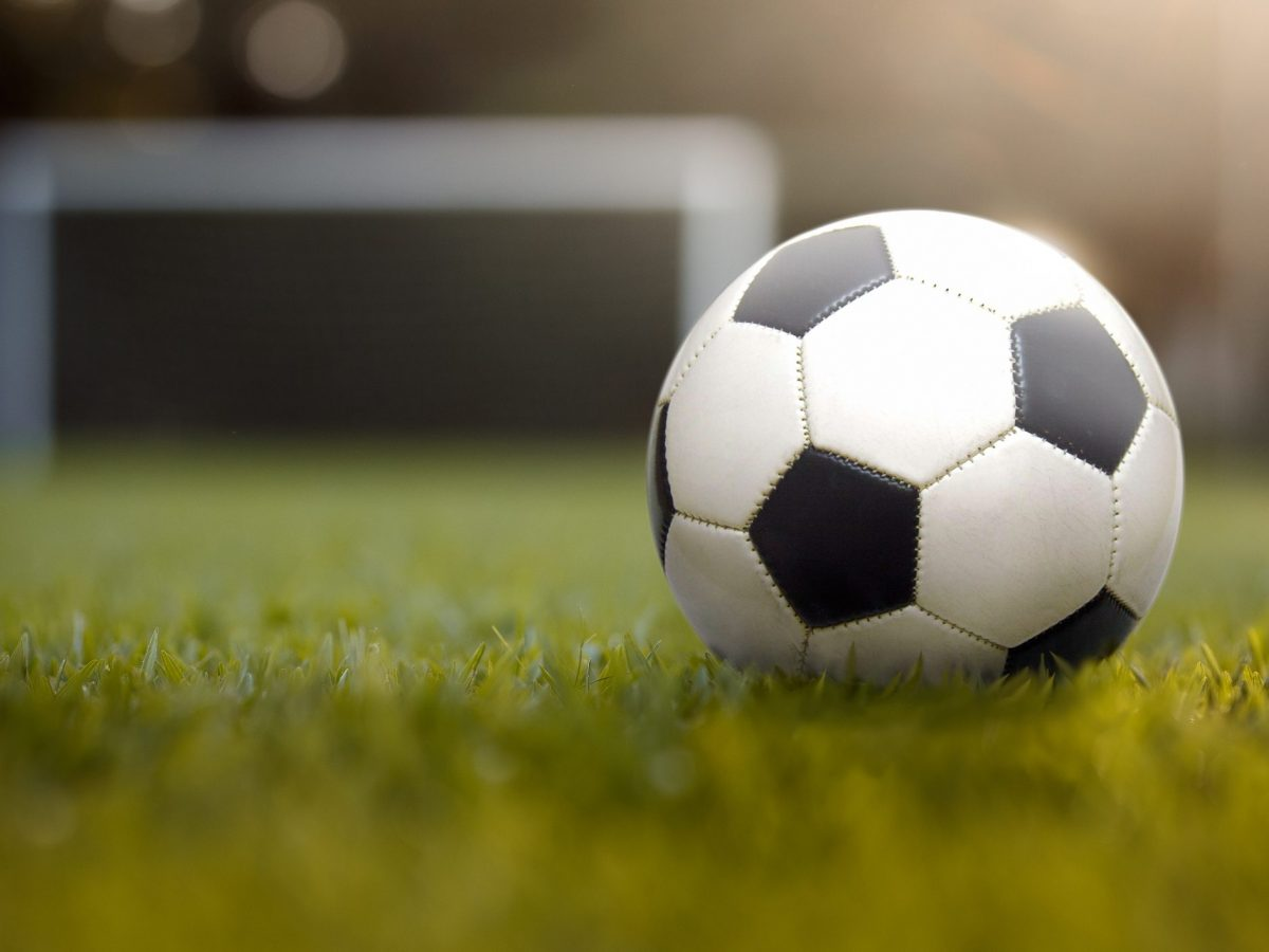 RCG Pallone di Cuoio da Calcio Misura 5 Ecopelle PU Cuoio Sintetico