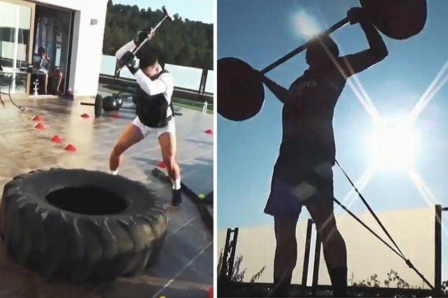 L'allenamento esagerato di Bennacer: Vuoi sfidare Rocky?