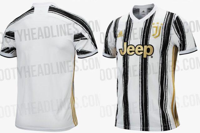 Juventus, sulla nuova maglia 2020-2021 tornano le strisce verticali