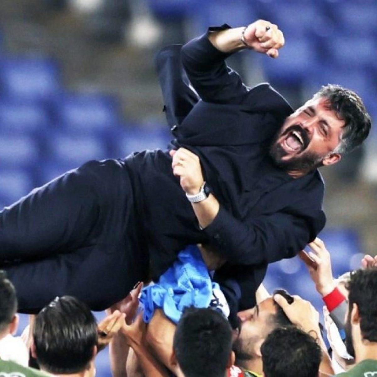 Gattuso vince la Coppa Italia, riporta un titolo a Napoli dopo 6 ...