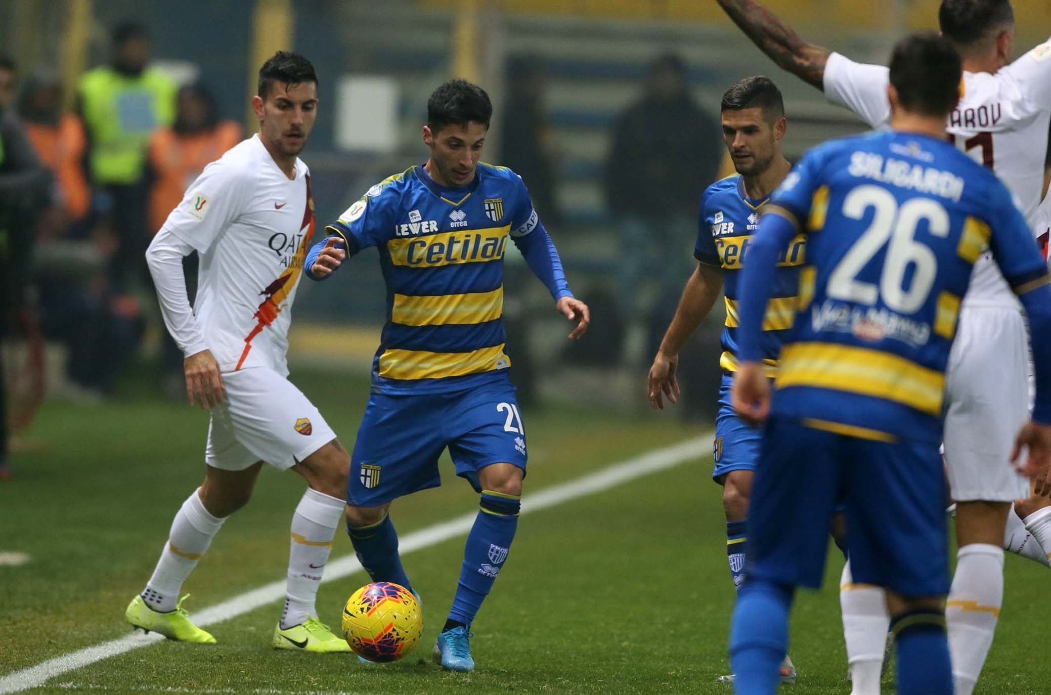 Diretta Roma-Parma: formazioni ufficiali