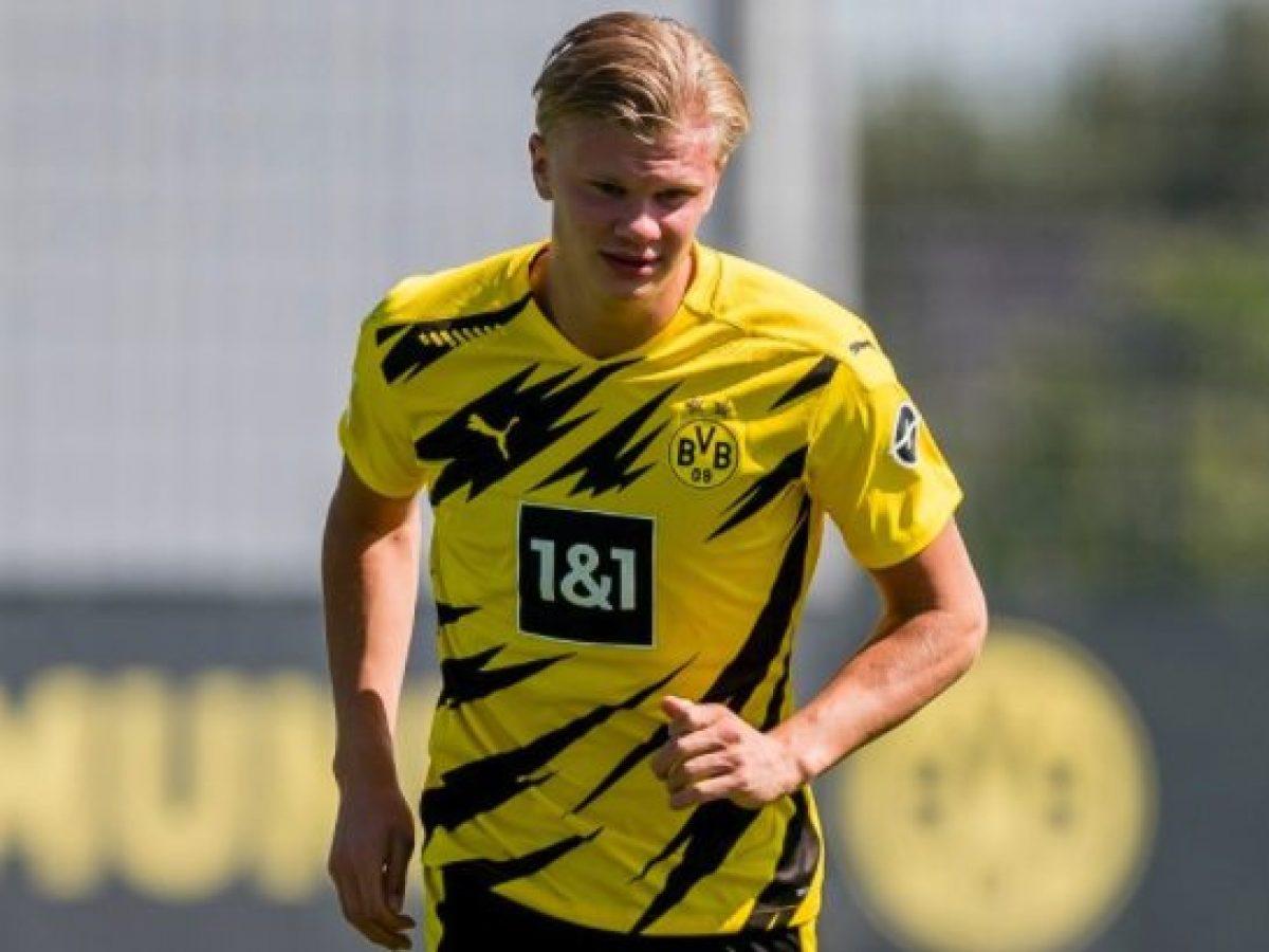 Borussia Dortmund, Haaland cambia e lascia il 17: il norvegese ...
