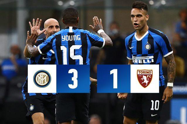 Inter Torino 3 1 Serie A 2019 2020