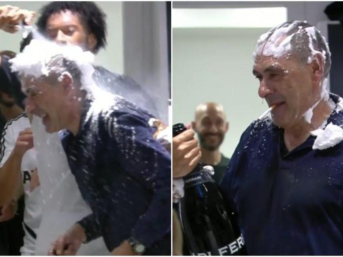 Juventus campione d'Italia: Sarri non festeggia in campo, poi è ...