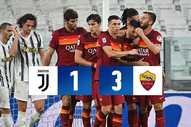 Juventus Sconfitta 3 1 Dalla Roma Primi Punti Per I Giallorossi All Allianz Stadium Dal 2011
