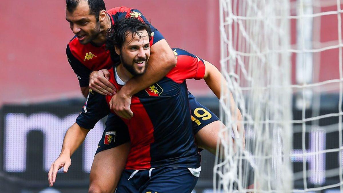 Genoa-Crotone 4-1: i gol di Destro, Pandev, Zappacosta e Pjaca stendono la neopromossa