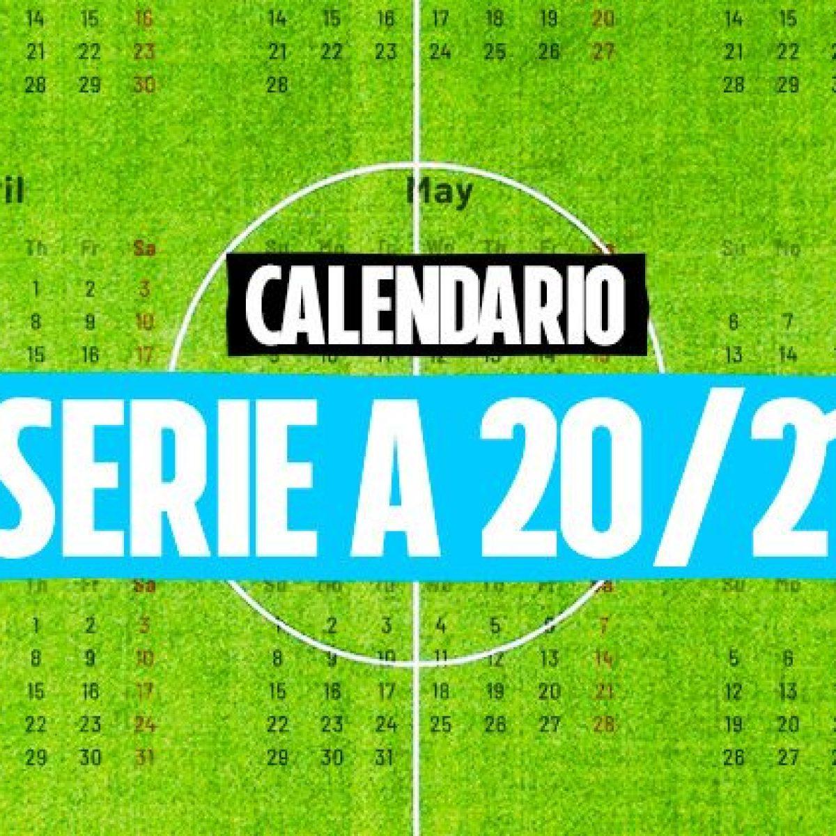 Calendario Serie A 2020 21 Tutte Le Partite E Le Giornate