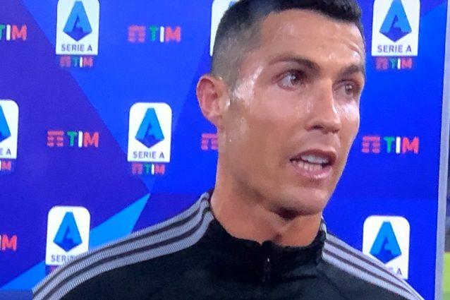 """Cristiano Ronaldo: """"Con la Roma punto guadagnato. Pirlo? La squadra ora è più contenta"""""""