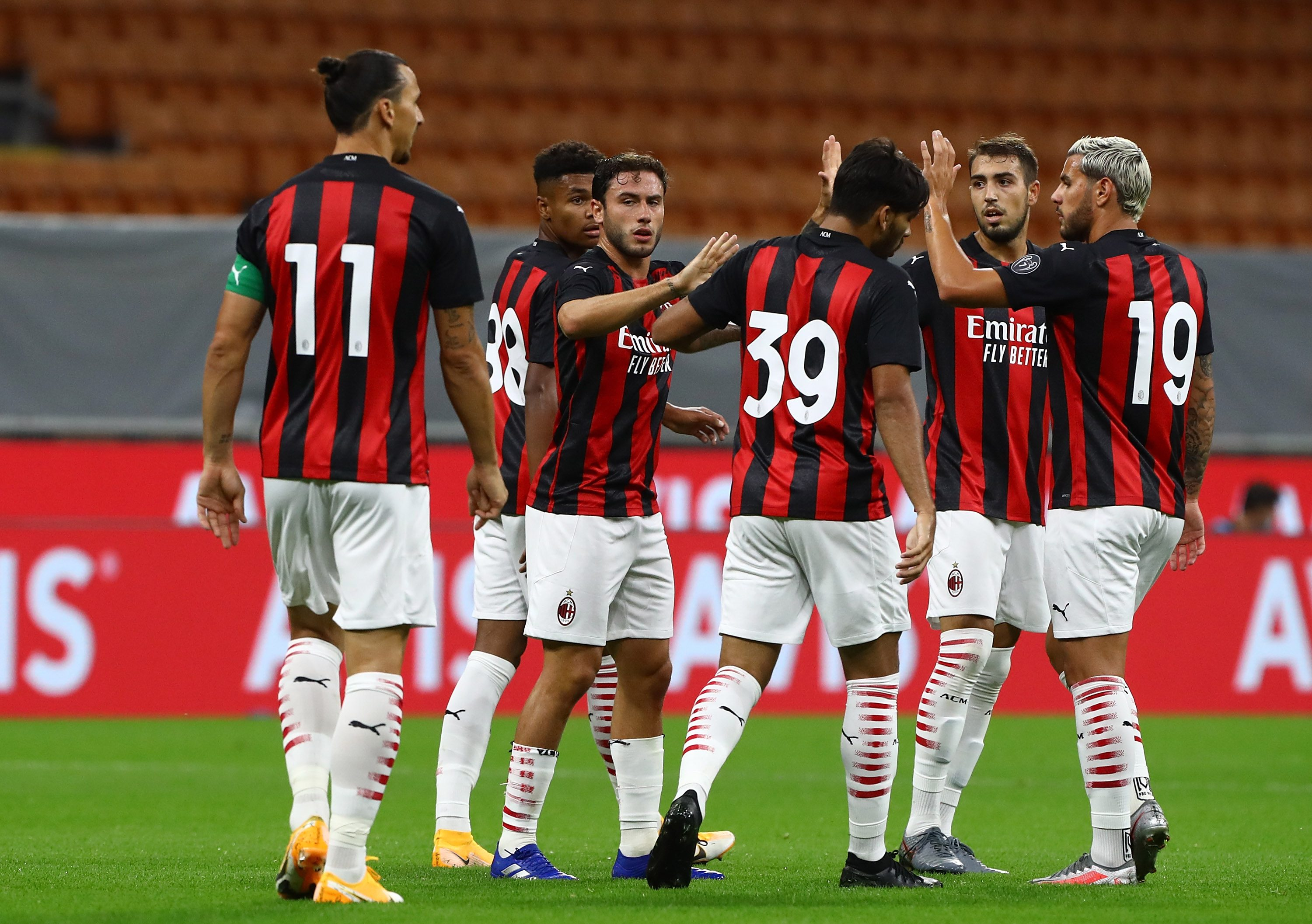 Milan vince in Europa League 2-0 sullo Shamrock Rovers