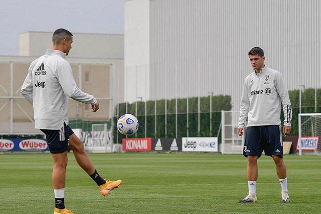 Juventus, Morata e gli allenamenti con Cristiano Ronaldo: Di testa ...
