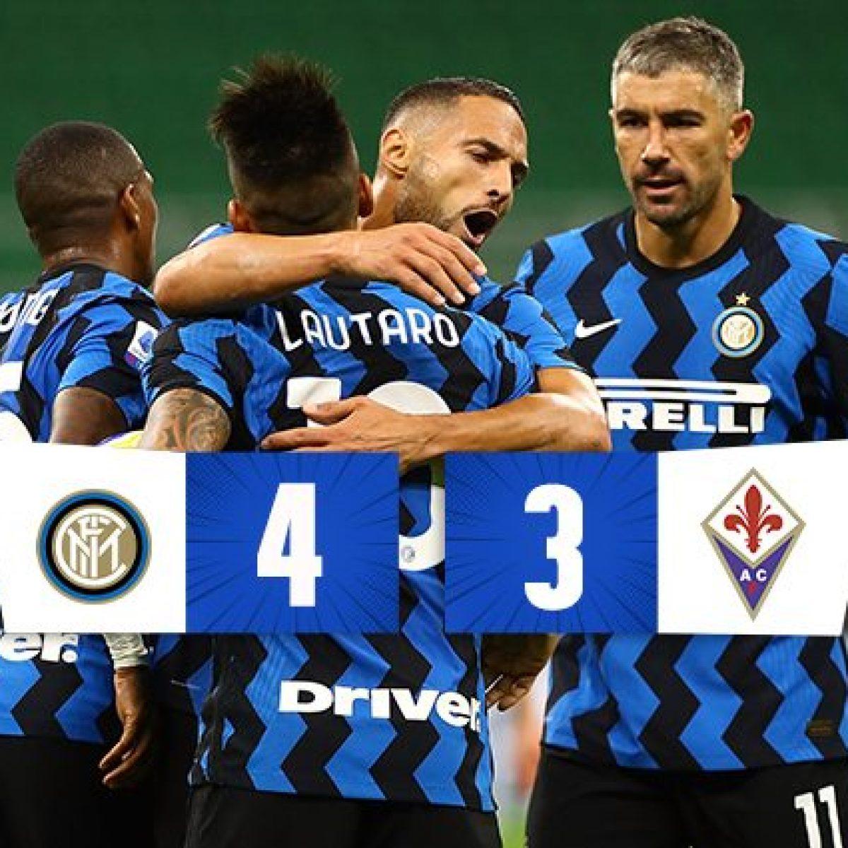 Pazza Inter, 4-3 alla Fiorentina: Ribery dà spettacolo, ma Conte sorride  con Lukaku e D'Ambrosio
