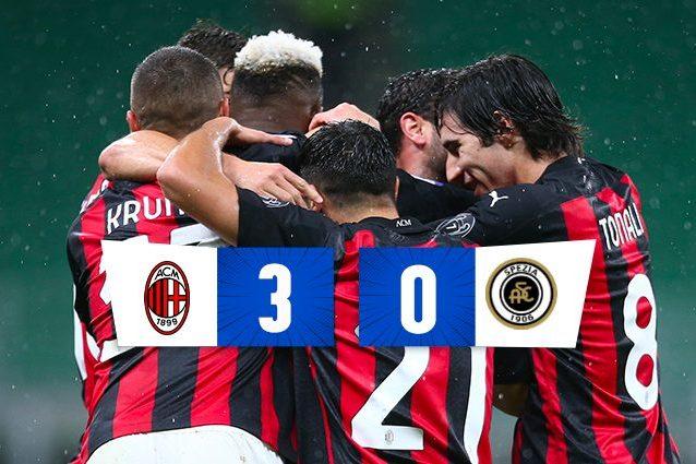 Il Milan Batte Lo Spezia In Serie A Doppietta Di Theo Hernandez E Gol Di Rafael Leao