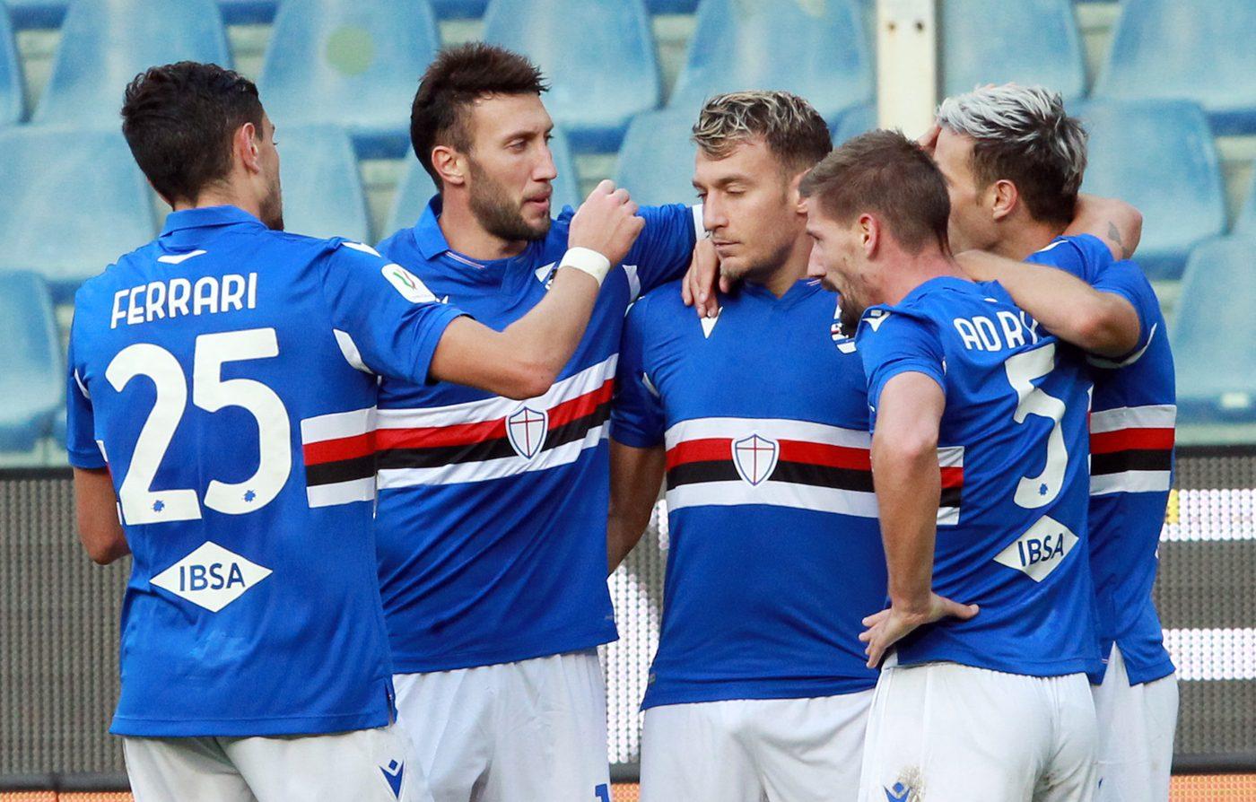Coppa Italia, tabellone e risultati terzo turno: Sampdoria batte Salernitana 1-0