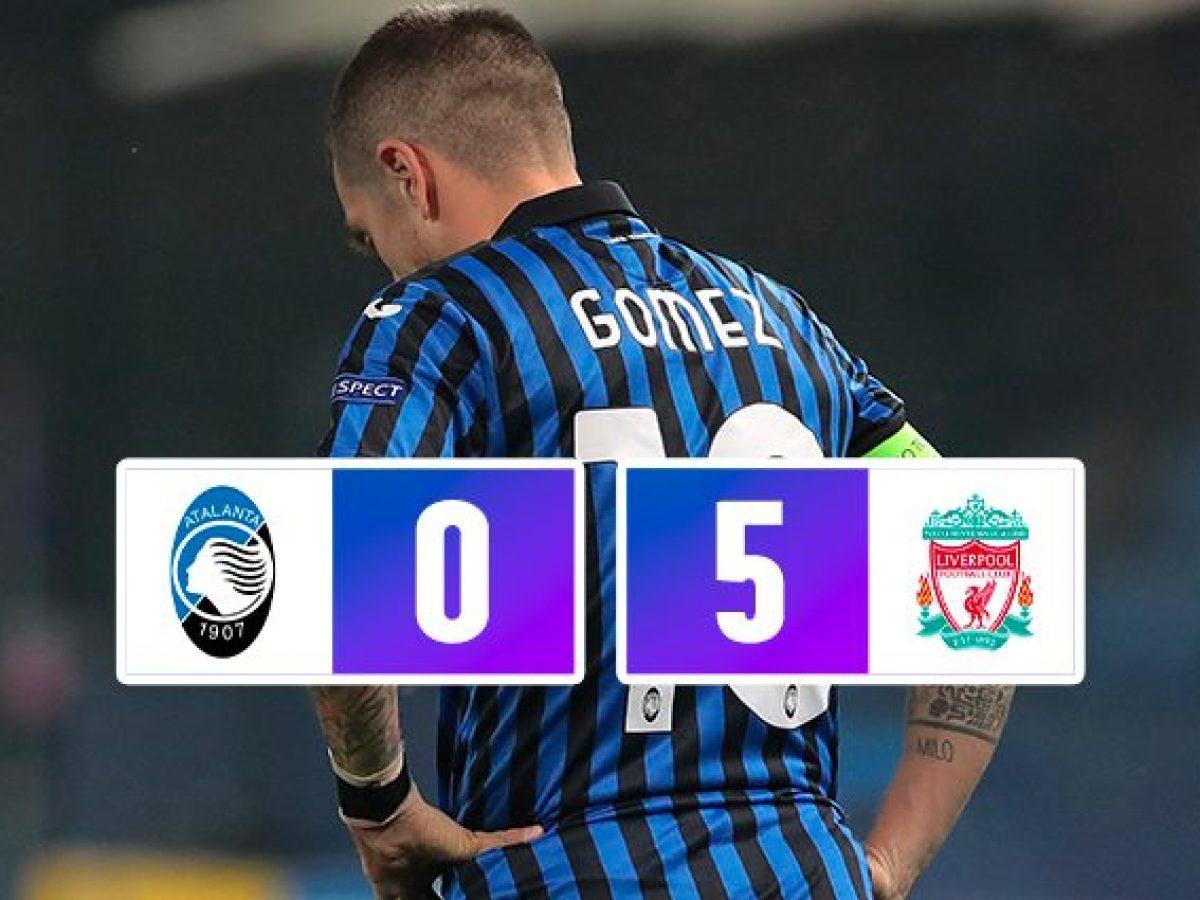 Atalanta – Liverpool 0-5 Champions League 2020/2021