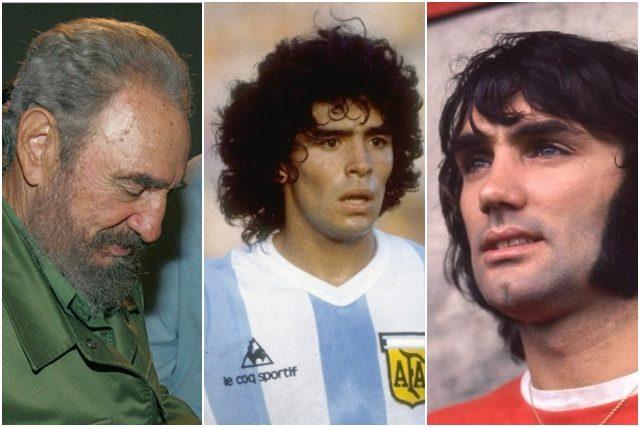 Maradona è morto nello stesso giorno in cui sono morti Fidel Castro ...