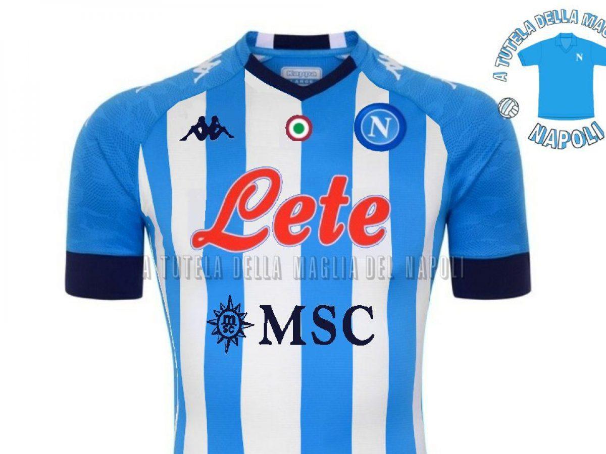 Il Napoli giocherà per Maradona: maglia in stile Argentina contro ...