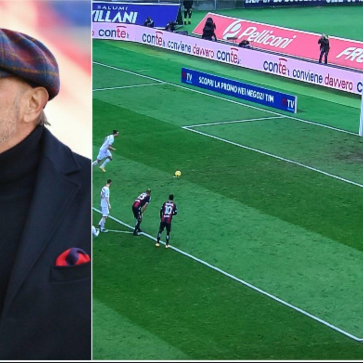 Mihajlovic provoca Ibrahimovic prima del rigore in Bologna-Milan: Tanto non  li sa tirare