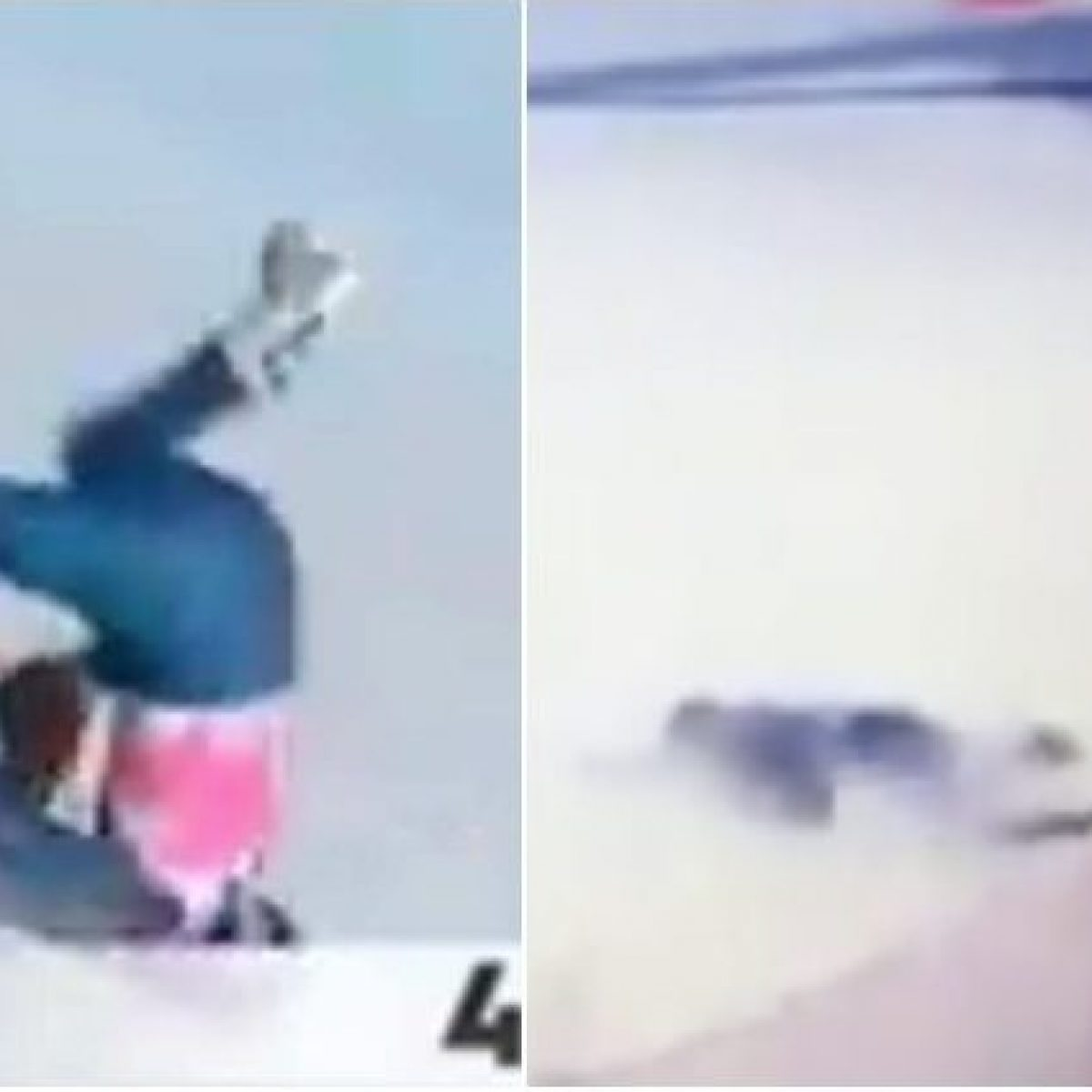 Tommy Ford perde conoscenza dopo una terribile caduta ad Adelboden