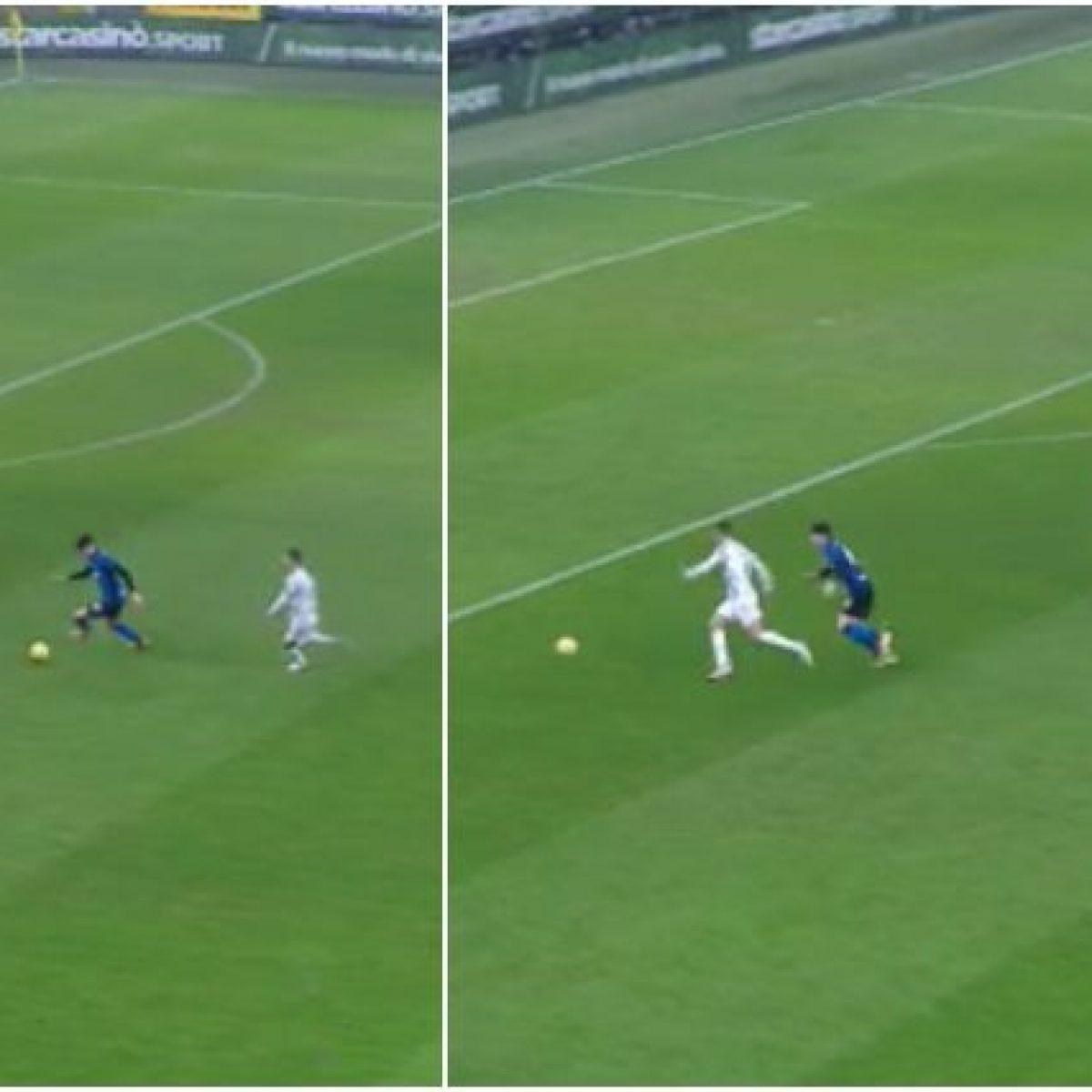 Il clamoroso errore di Handanovic e Bastoni sul gol di Cristiano Ronaldo in  Inter-Juve