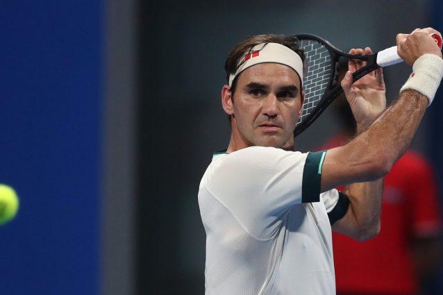 """federer vs basilashvili 638x425 - """"Onestamente non so cosa pensare"""": lo sfogo di Federer a pochi mesi dalle Olimpiadi di Tokyo"""