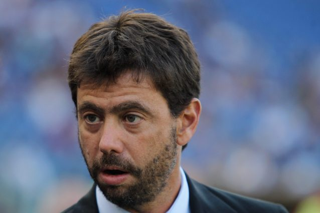 agnelli lega superlega 638x425 - Cosa rischiano Juventus, Real Madrid e Barça dopo il procedimento aperto dalla Uefa sulla Superlega