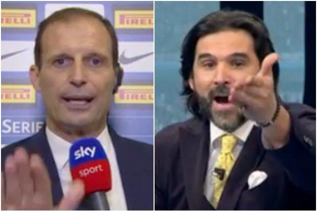 """allegri adani 638x425 - Da Adani e Vieri, è un coro contro Allegri: """"Non può far giocare la Juve così"""""""