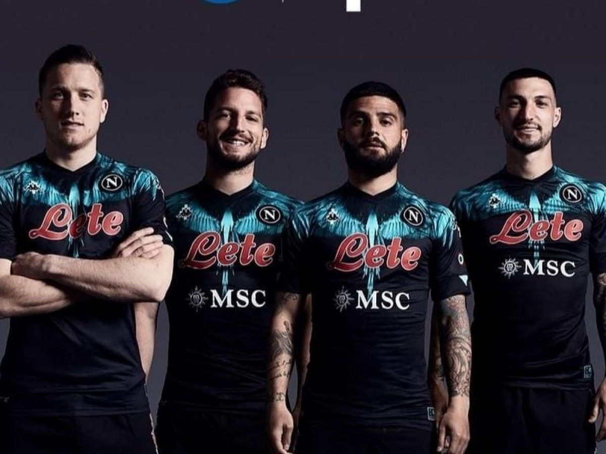 Perché il Napoli contro l'Inter indossa una nuova maglia con piume ...