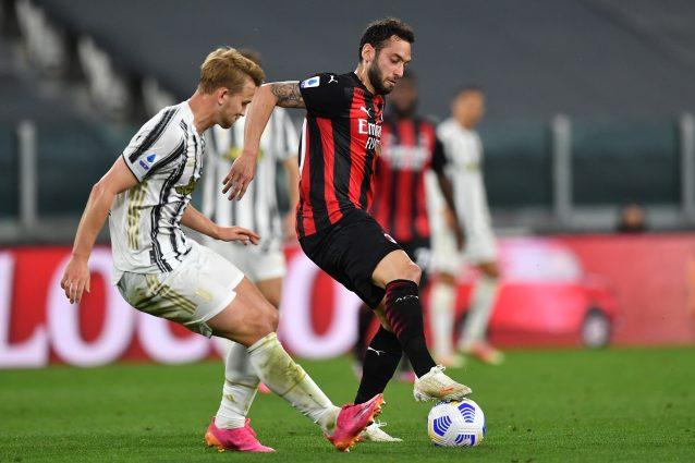 GettyImages 1317150105 638x425 - La Juventus prepara il doppio schiaffo al Milan: Champions e Calhanoglu a zero