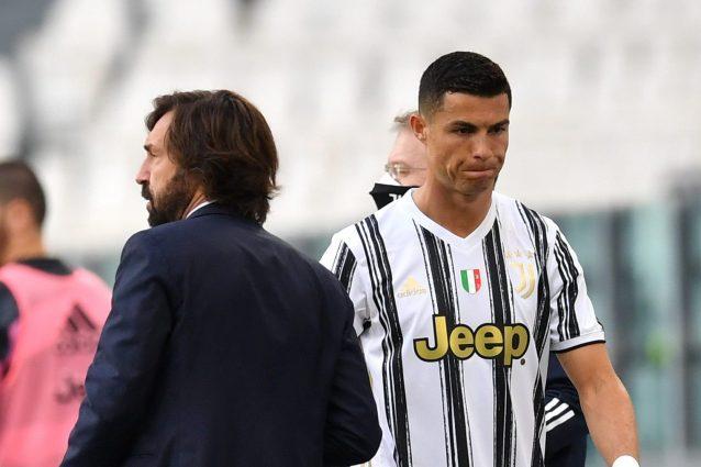 """GettyImages 1318172029 1621156795916 638x425 - Ronaldo e la fuga in spogliatoio dopo il cambio, la spiegazione: """"Magari aveva problemi di vescica"""""""