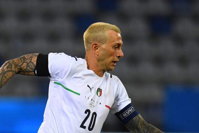 GettyImages 1320538943 1622228525263 638x425 - Bernardeschi capitano dell'Italia: il segnale di Mancini contro San Marino