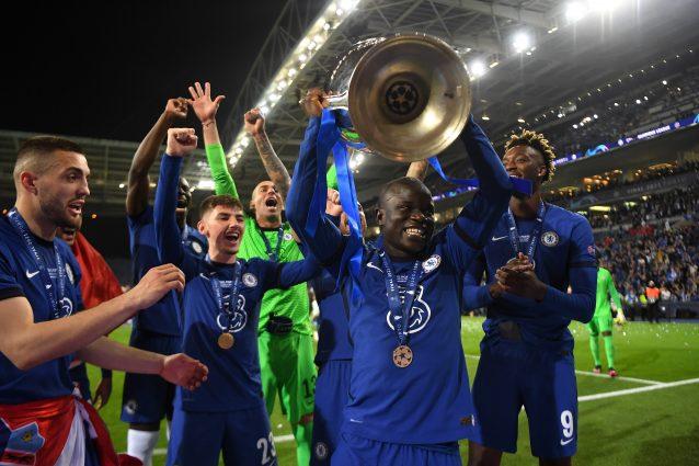 GettyImages 1320702578 638x425 - Kanté è l'anima del Chelsea, vince pure la Champions e punta al Pallone d'Oro