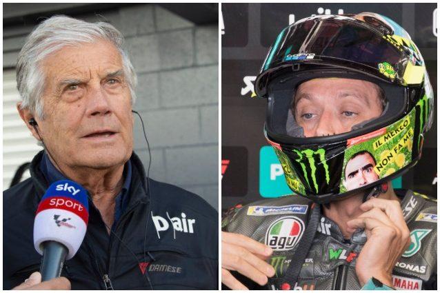 """Giacomo Agostini ritiro Valentino rossi motogp futuro - Agostini 'suggerisce' il ritiro a Valentino Rossi: """"Devi avere il coraggio di dire basta"""""""