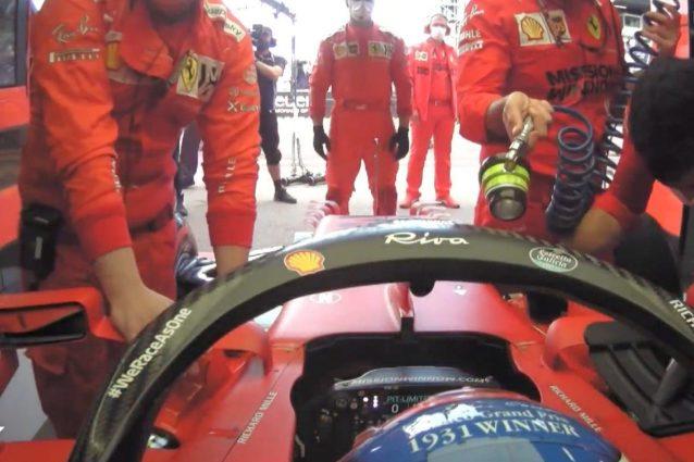 Leclerc ritiro GP Monaco motivo colpe Ferrari box problema controlli SF21 Binotto 638x425 - Cosa poteva fare la Ferrari prima del GP di Monaco per evitare il ritiro di Leclerc